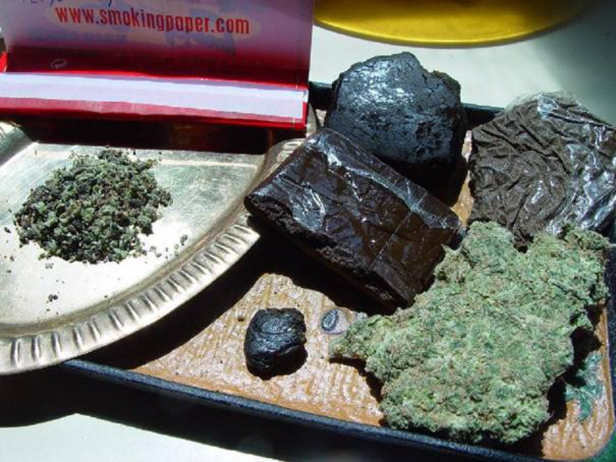 how to make hash with alcohol method