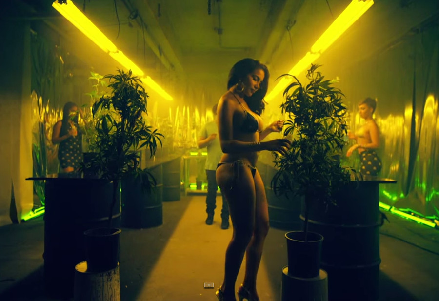"Chris Brown & Tyga Present New Cool Video for ""Bitches N Marijuana"""