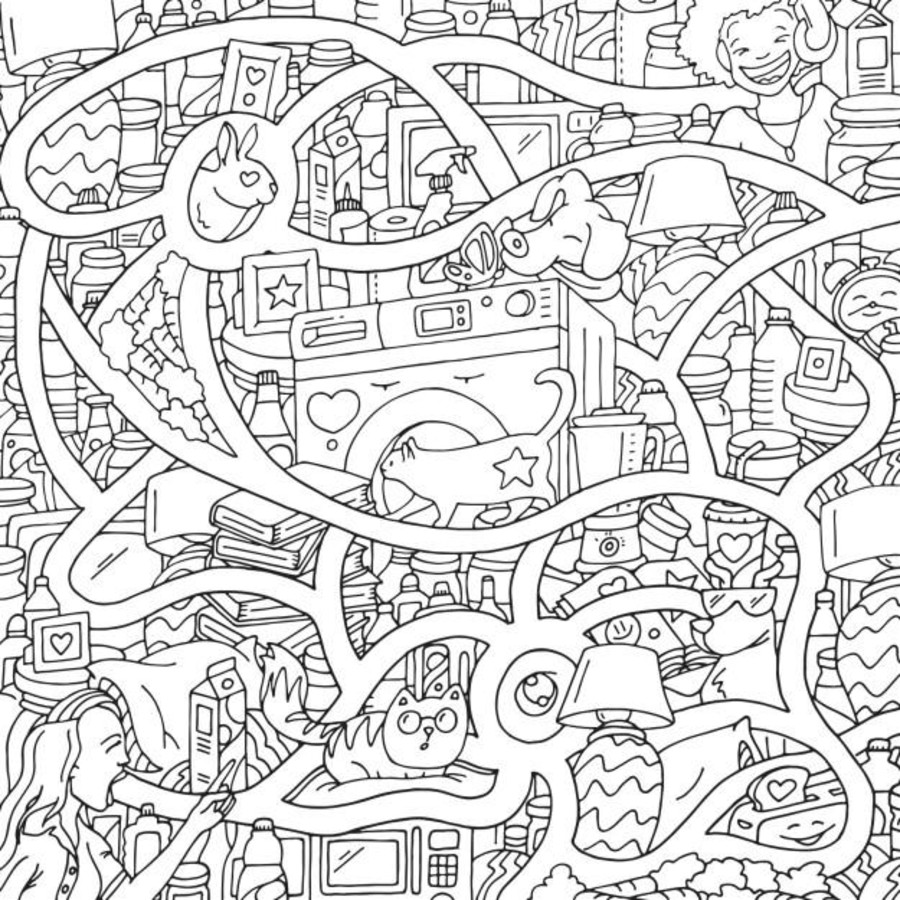 This Hilarious Coloring Book Is Not Only For Every Stoner But Also