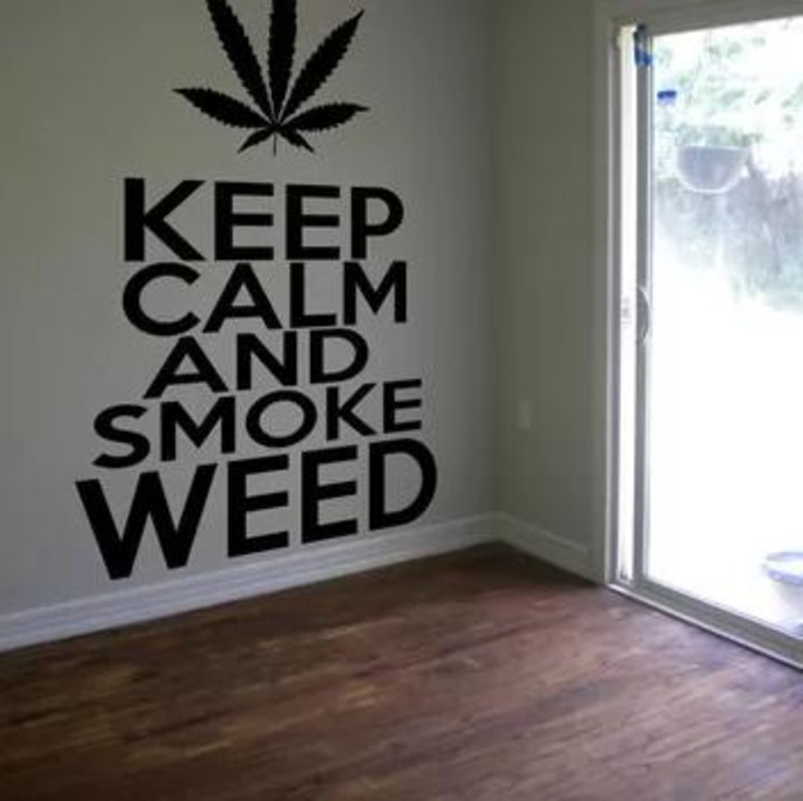 10 Great Ideas of Beautiful Cannabis Décor in your House ...